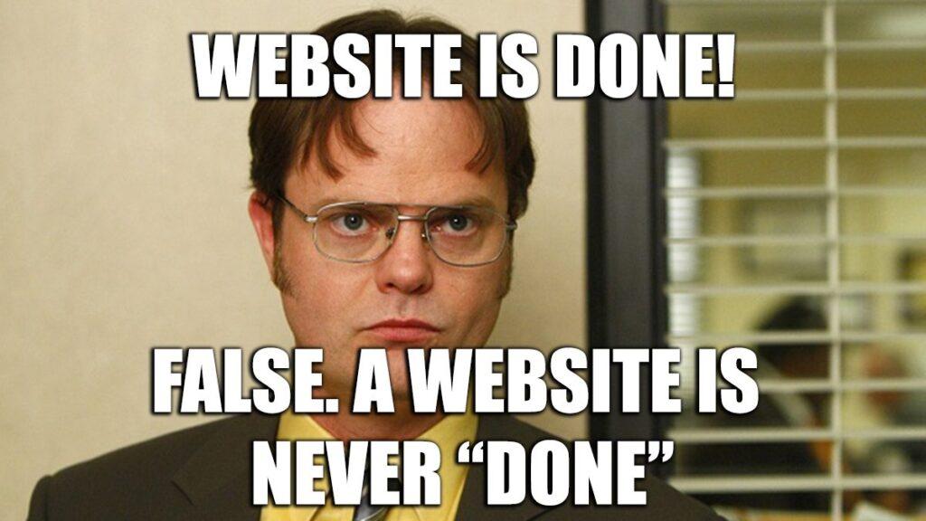 Meme Nieuwe Website